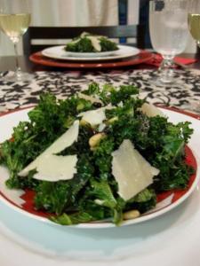 Kale Parmesan Salad