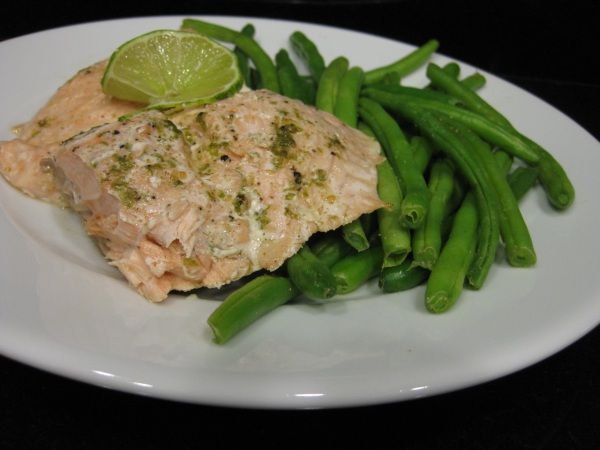 Ginger Lime Salmon